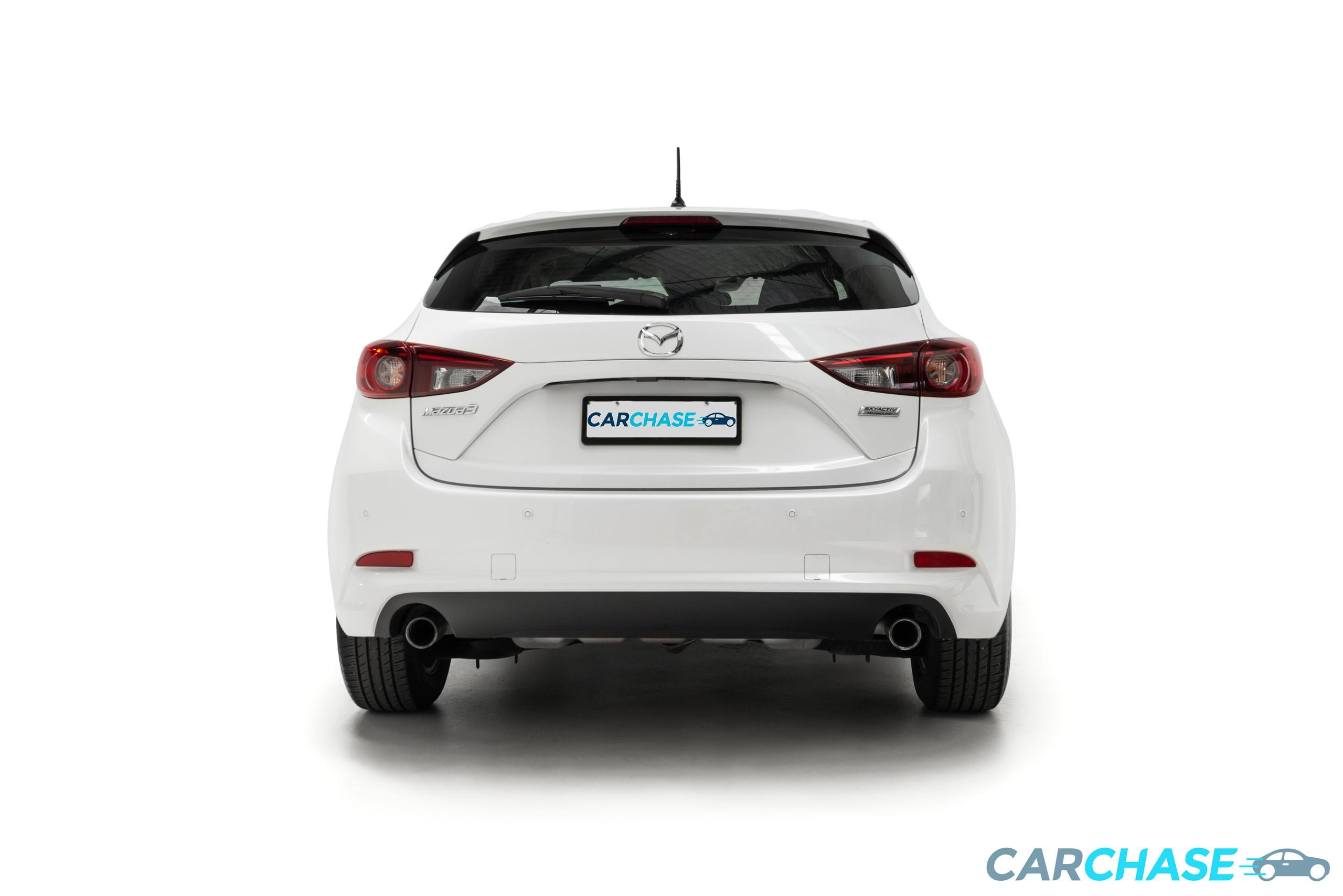 Image of rear profile of 2016 Mazda 3 Neo BN Series