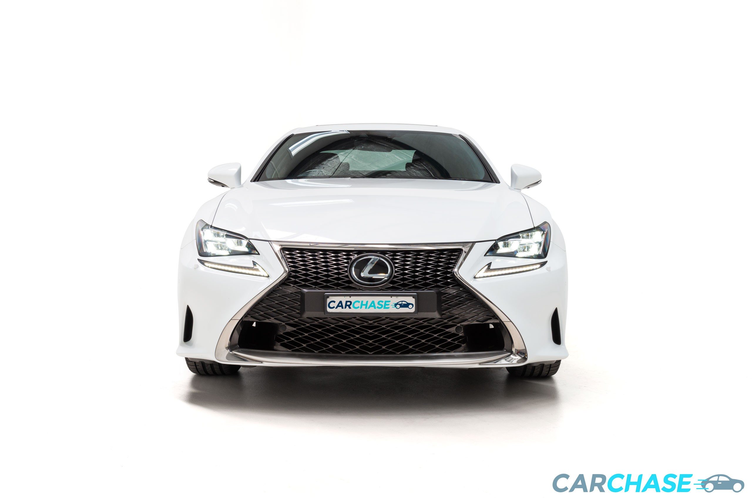 Image of front profile of 2016 Lexus RC RC350 F Sport