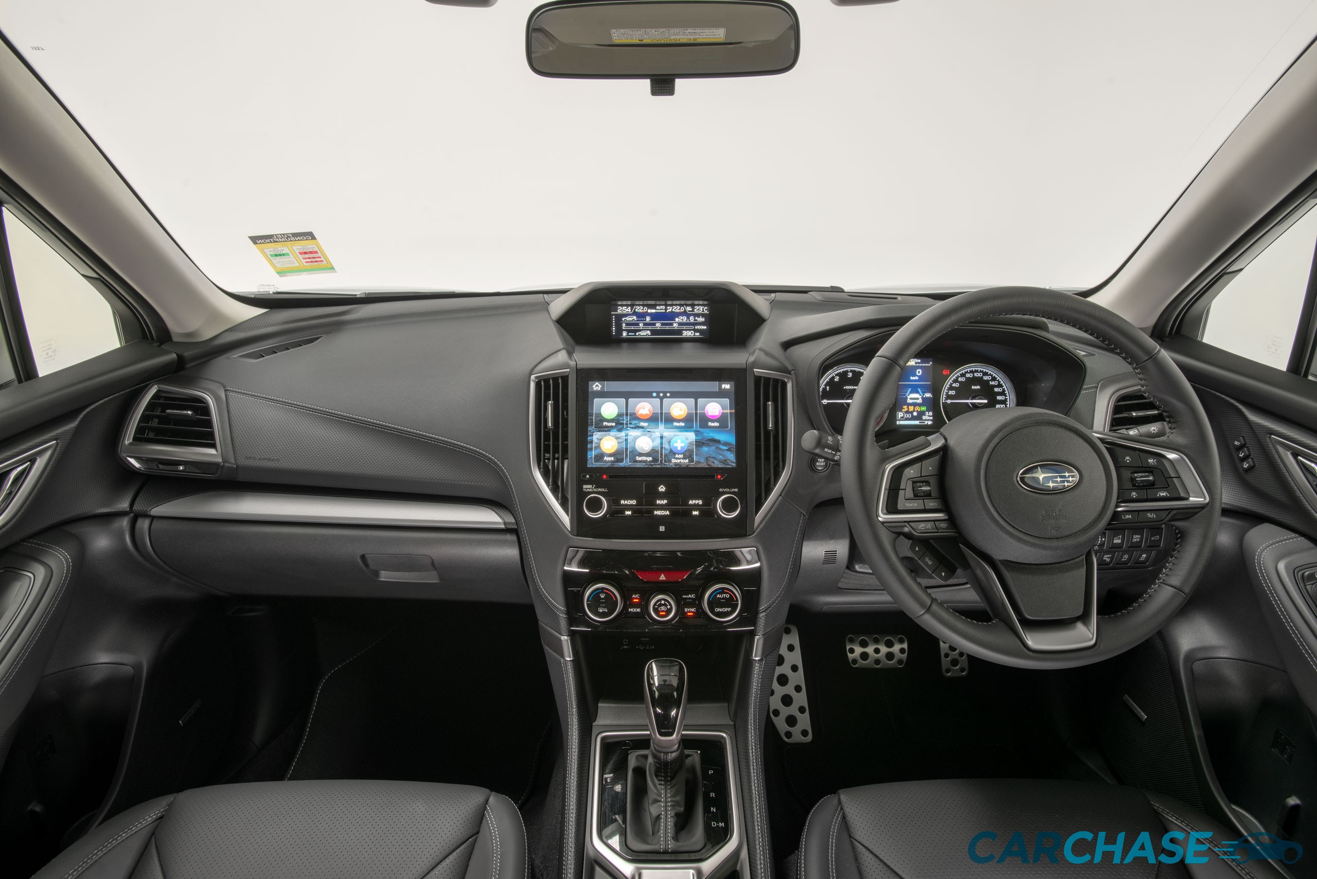 Image of dashboard profile of 2018 Subaru Forester 2.5i-S