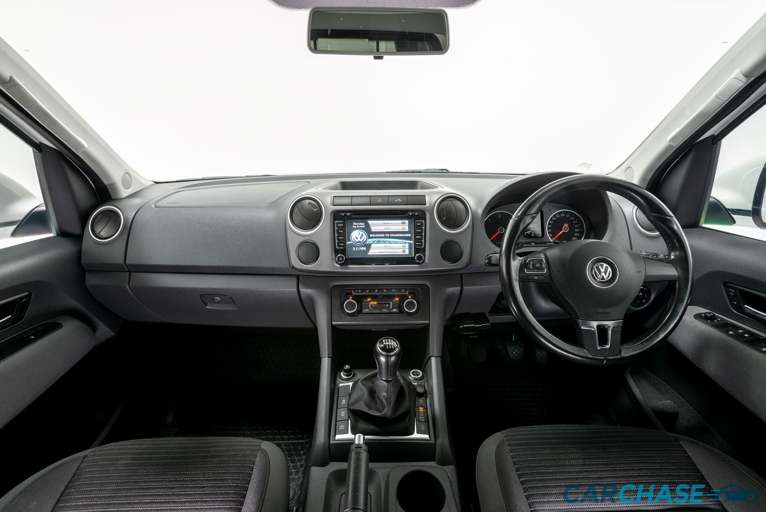 Image of dashboard profile of 2012 Volkswagen Amarok TDI400 Highline