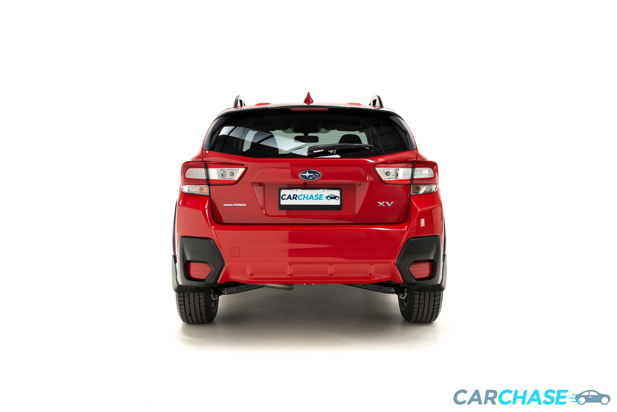 Image of back profile of 2018 Subaru XV 2.0i