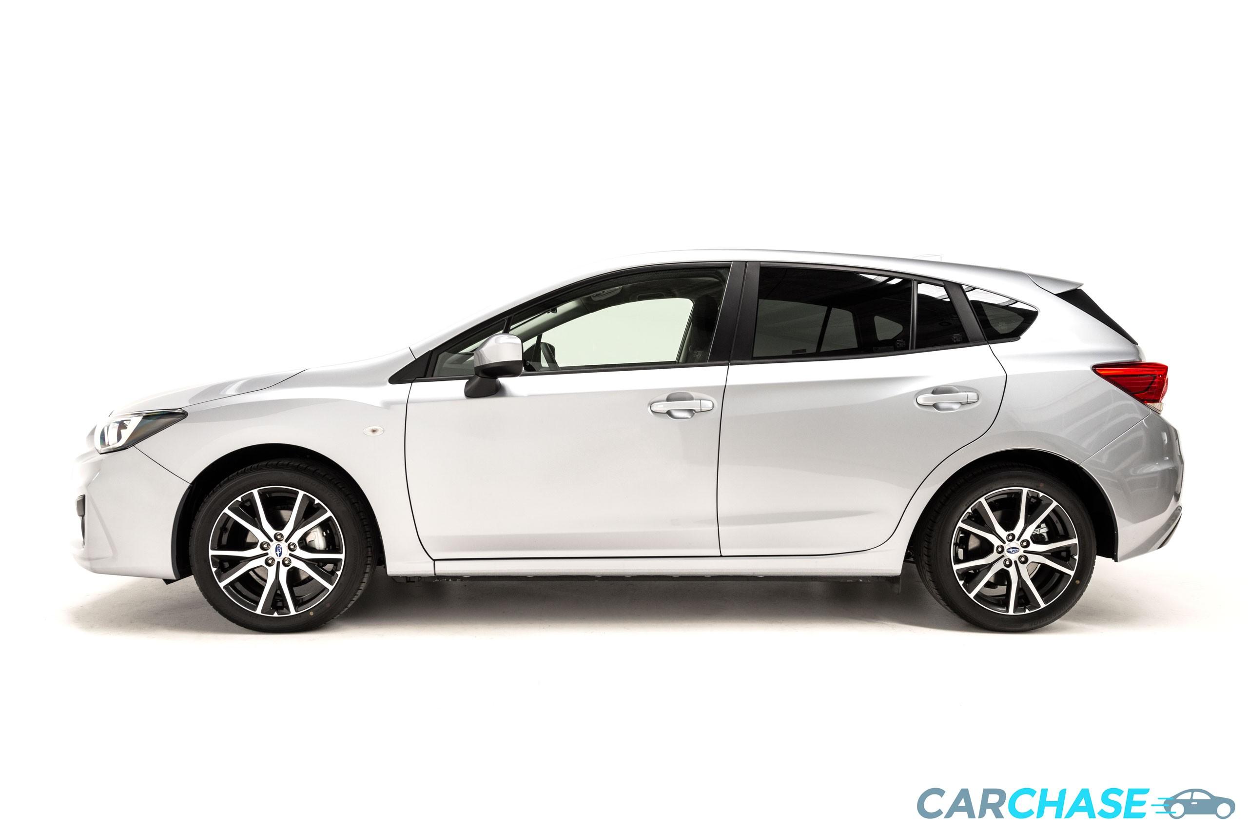 Image of left profile of 2018 Subaru Impreza 2.0i
