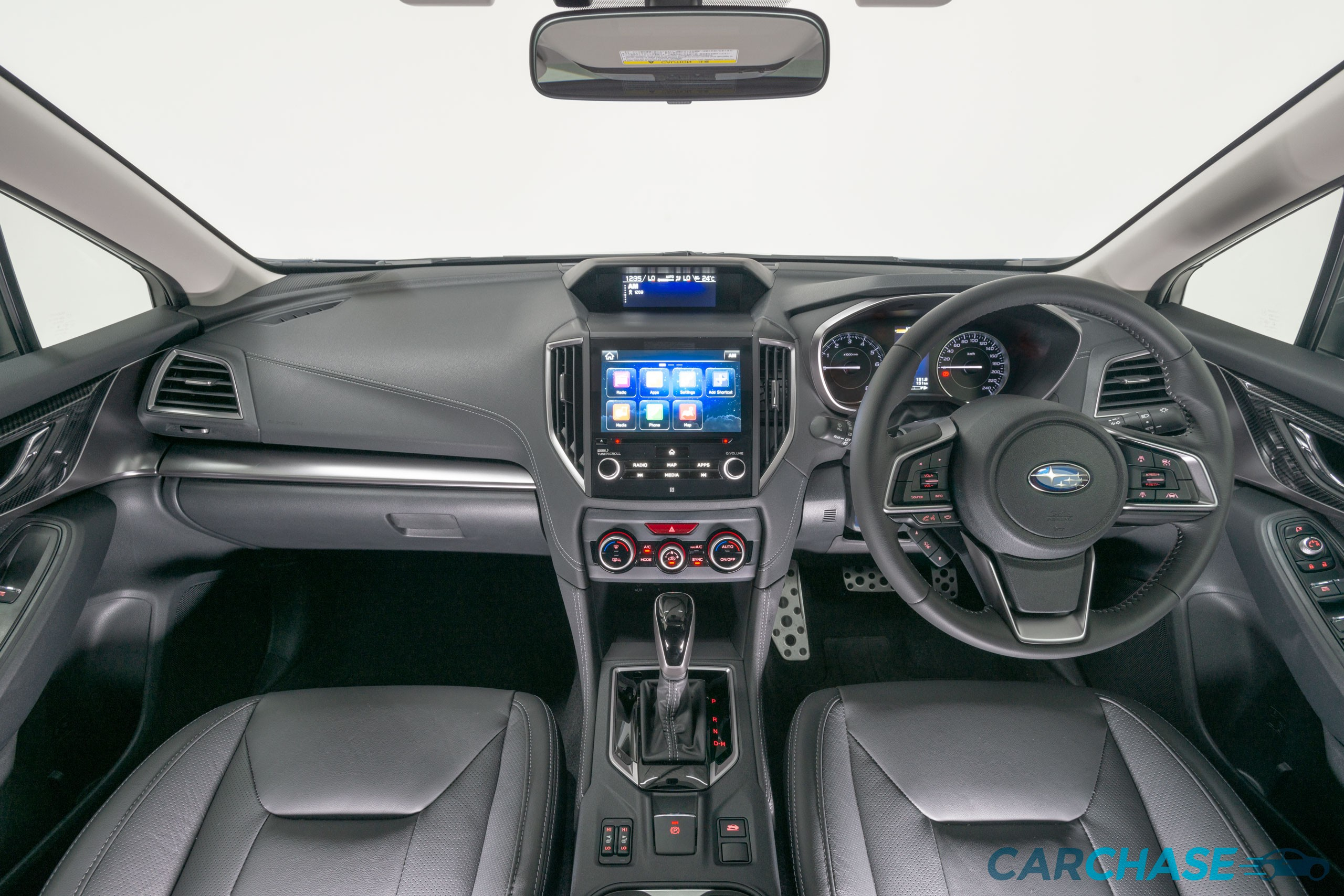 Image of dashboard profile of 2018 Subaru Impreza 2.0i-S