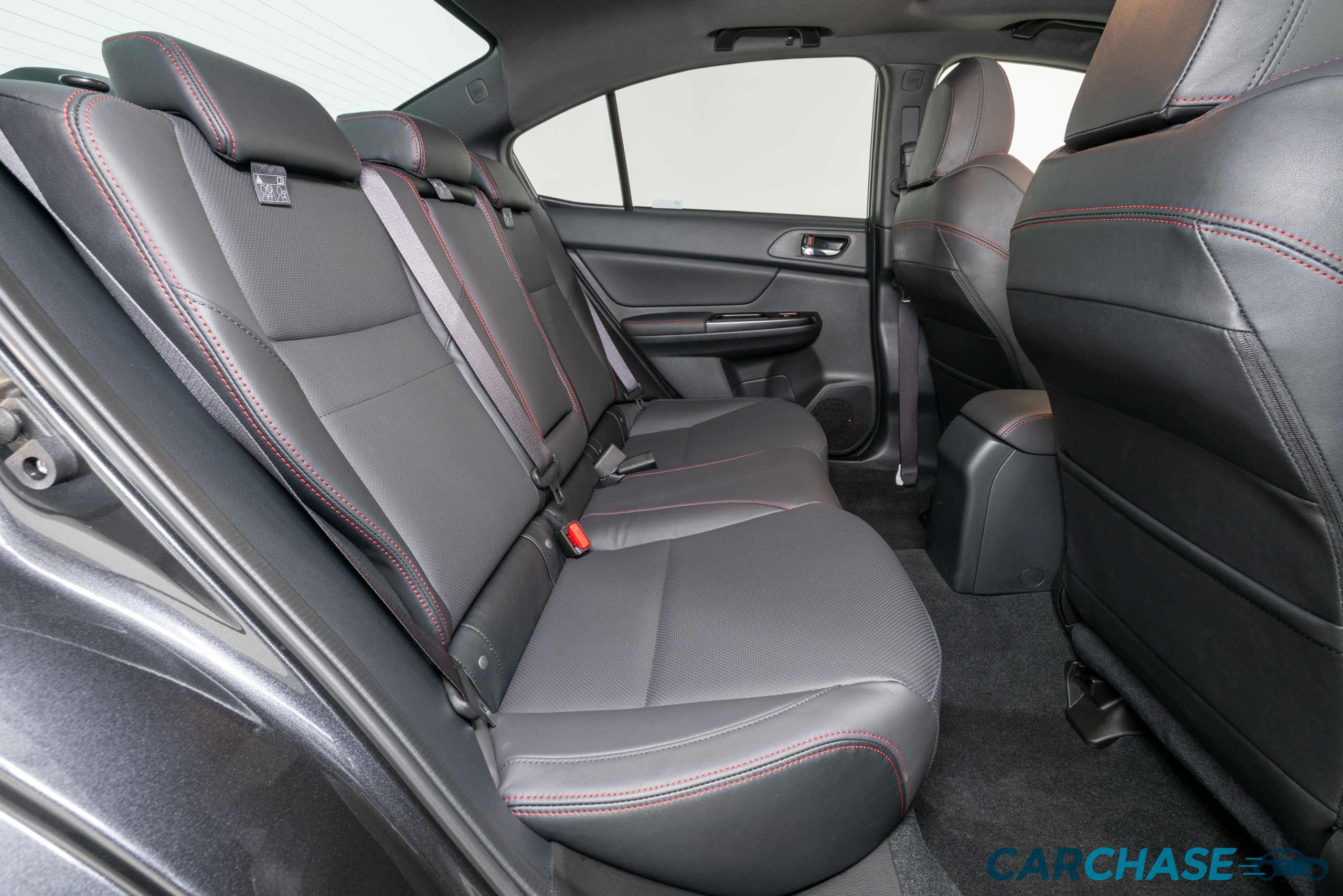 Image of rear driver profile of 2018 Subaru WRX Premium