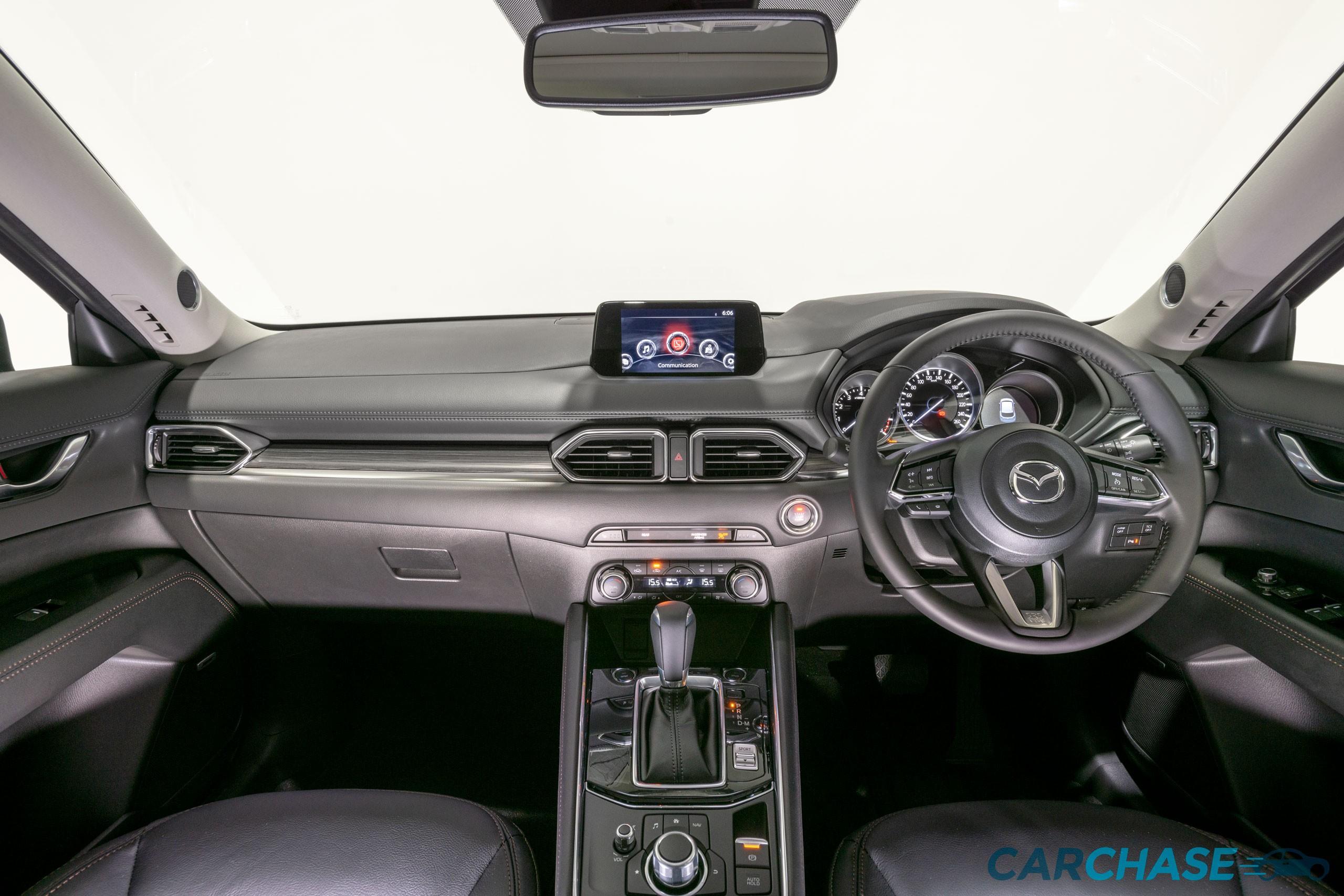 Image of dashboard profile of 2018 Mazda CX-5 GT