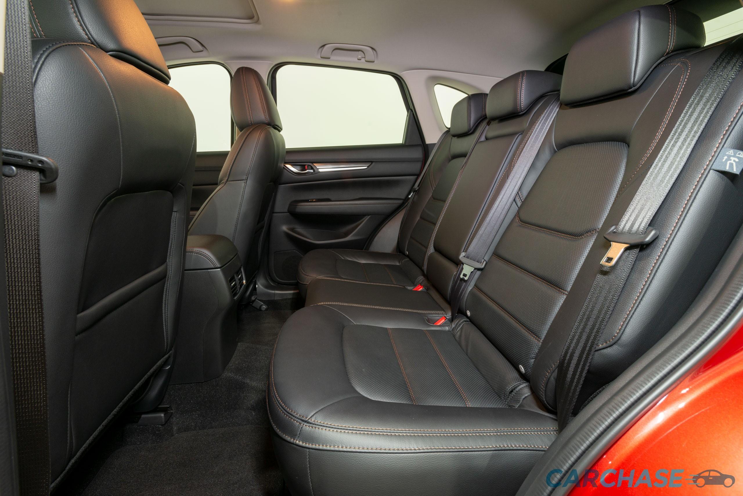 Image of passenger rear profile of 2018 Mazda CX-5 GT