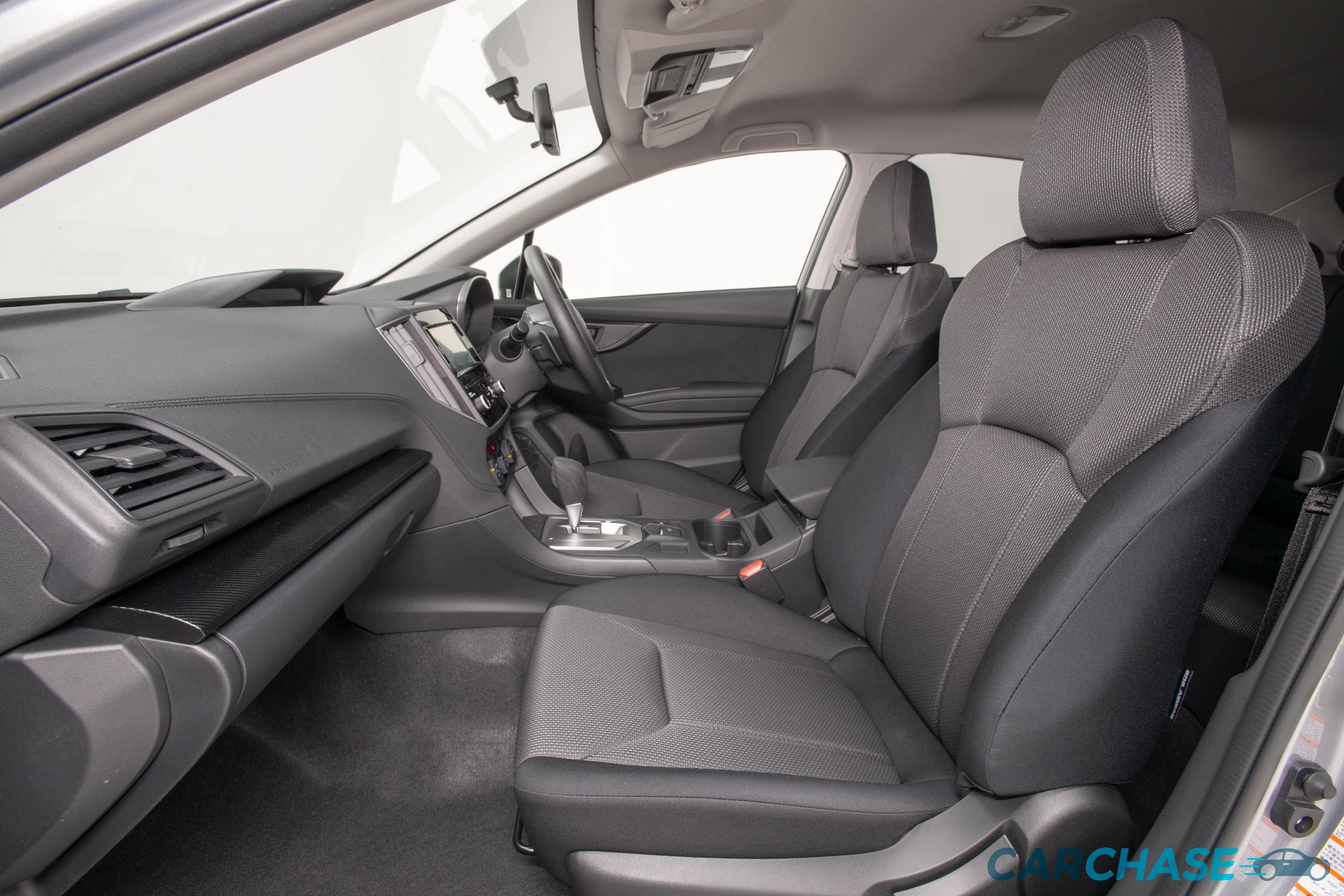 Image of passenger front profile of 2018 Subaru Impreza 2.0i