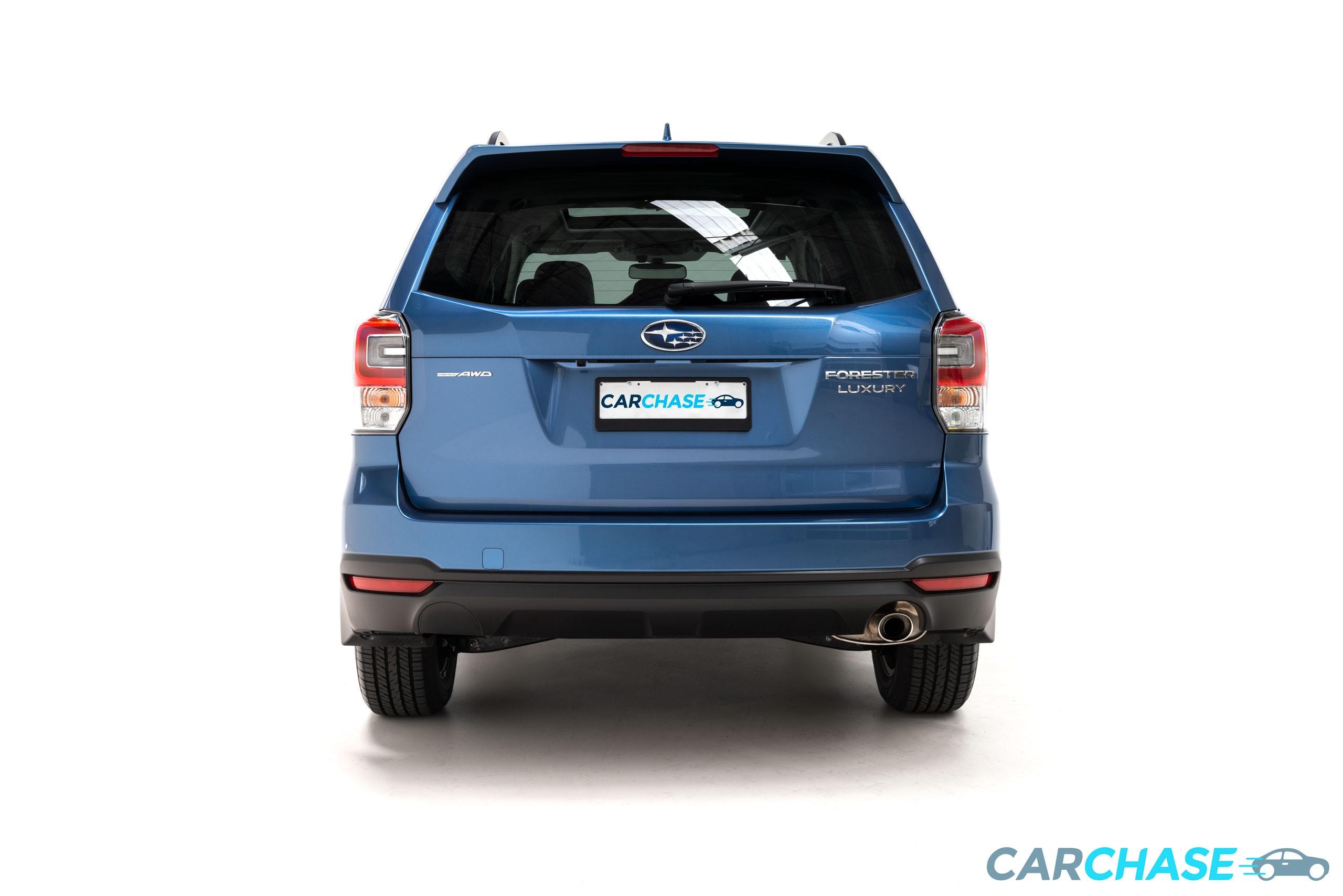 Image of back profile of 2018 Subaru Forester 2.5i-L Luxury
