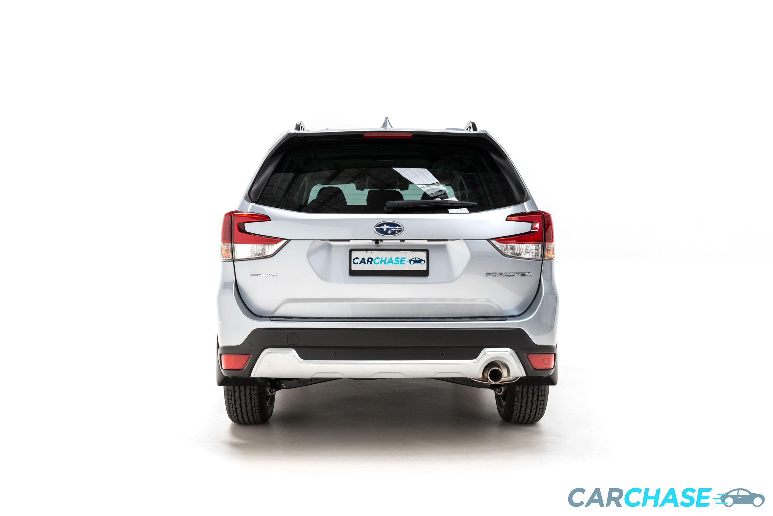 Image of rear profile of 2018 Subaru Forester 2.5i-S